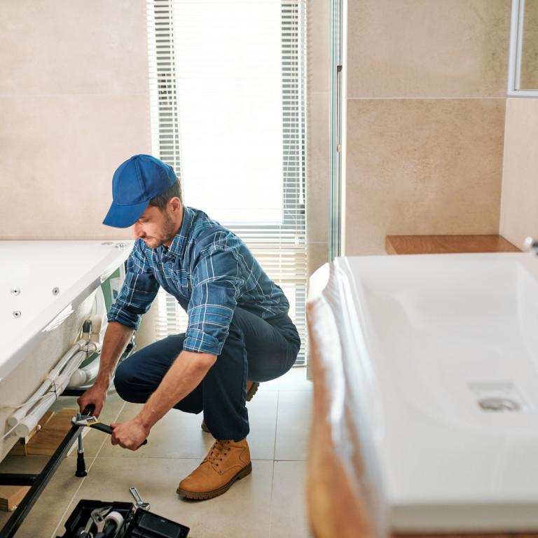 Installation ou changement de bac à douche/baignoire
