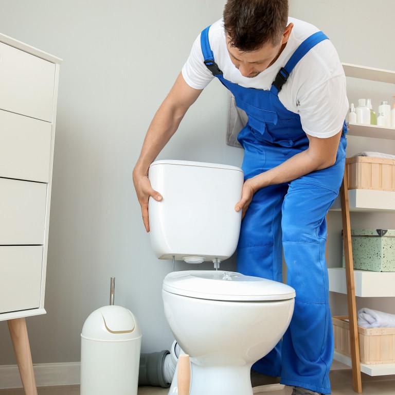 Installation ou changement WC classique ou suspendu