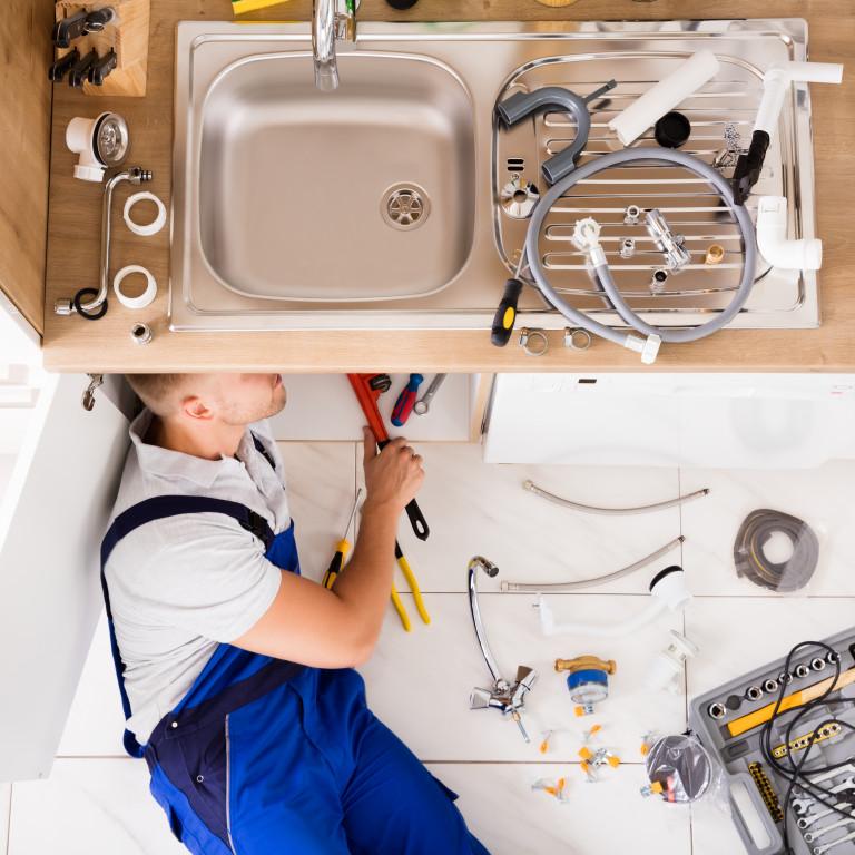Installation ou changement de lavabo/d'évier